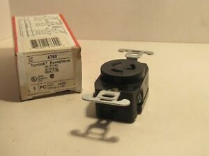 NEW PASS & SEYMOUR 4760 15A 277VAC 2P 3W TURNLOK RECEPTACLE