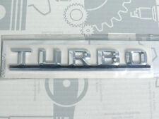 Original Mercedes Schriftzug/ Typbezeichnung/ Typkennzeichen Turbo W124 W463 NEU