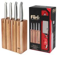100% Genuine! FURI Pro Segmented S/S Knife Block Set 5 Piece! RRP $399.00!
