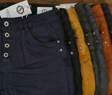 ♥ 7 KAROSTAR Herbstfarben 2020 Baggy Boyfriend Stretch BASIC Jeans Hose *555