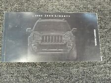 2002 Jeep Liberty Owner Owner's Manual User Guide Sport Renegade Limited Edition