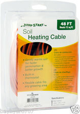 Jump Start Soil Heating Cable 48' Built-in thermostat SAVE $$ W/ BAY HYDRO $$