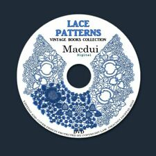 Lace Patterns Bobbin Lace Pillow Lace – Vintage E-books 6 Volumes PDF on 1 DVD