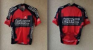 BMC Swiss Hincapie Cycling Shirt M Jersey Red Camiseta Switzerland