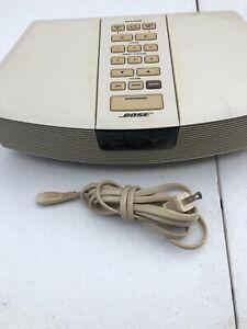 Bose AWR1-1W Acoustic Wave Clock Radio no Remote