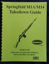 Springfield  M  14  M1A    Assembly Disassembly Takedown Guide Radocy  NEW