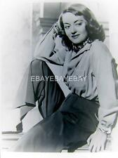 Bette Davis Portrait NEGATIVE 742A