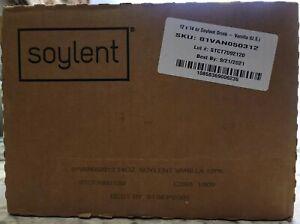 SOYLENT 01VLT050312 Vanilla 14 fl. oz., PK12. Expires 9/21/2021