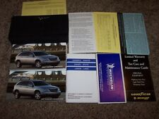 2007 Chrysler Pacifica Owner Operator Manual Touring Limited V6 3.8L 4.0L