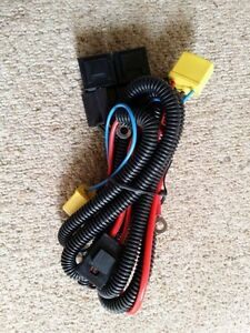 VW T4 Transporter Uprated Headlight Wiring Loom Harness - Plug & Play Upgrade H4