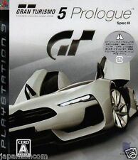 Used PS3 Gran Turismo 5 Prologue Spec 3 SONY PLAYSTATION 3 JAPAN JAPANESE IMPORT