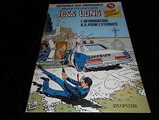 Piroton / Tillieux Jess Long 8 L'intimidation / K.O. pour l'éternité EO 1983 TBE
