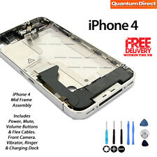 NEW Mid Frame Housing Assembly Including Power Mute Volume Switch FOR iPhone 4