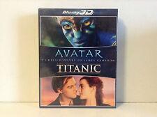 Avatar + Titanic (Blu-ray 3D +  Blu-ray 2D) Brand new