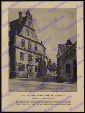 Ernst Liebermann Geburtshaus Otto Weddigen Herford U-Boot Kaiserliche Marine ´25