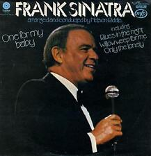 Vinyl- Frank Sinatra- One for my baby. LP