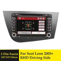 Double DIN Car CD Radio Plate Stereo Facia Fascia Adaptor Panel for Seat Leon