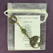 TREE OF LIFE CHARM Amulet Talisman Symbol Sign Kabbalah Magick Yew Ash Oak Spell