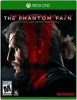 NEW Metal Gear Solid V: The Phantom Pain (Microsoft Xbox One, 2015)