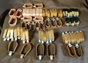 """66 Adjustable Band Loop Hangers Copper Tube 3/4"""" to 1-1/2"""""""