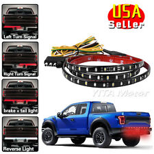 "5-Function 48"" LED Tailgate Brake Reverse Signal Light Strip 12V for Dodge RAM"