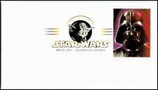 OAS-CNY 5192 FDC 2007 STAR WARS DARTH VADER SCOTT 4143a