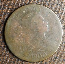 1800/1798 Draped Bust Large Cent, S-190, R-3, 1st Hairstyle