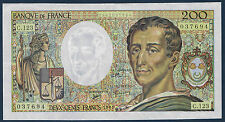 FRANCE - 200 FRANCS MONTESQUIEU Fayette n° 70.12b de 1992 en SUP  C.123 037694