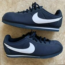Nike 749493 Cortez Nylon GS Navy Casual Trainer Sneaker Children's US 6 6Y Youth