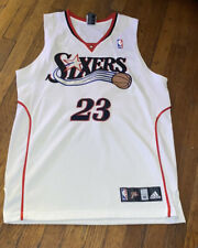 Lou Williams rookie 76ers jersey Rare white sz 40 Signed Autograph Philly