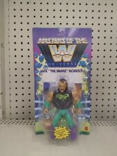 New Jake the Snake Roberts Masters Of The Wwe Universe Motu In Hand Mattel