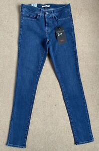 NEW Levis 311 Shaping Skinny Women's Stretch Jeans W28 L32 (D228)