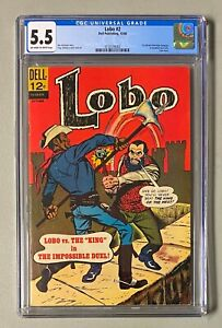 LOBO #2 Dell Publishing 1966 CGC 5.5 1st African American Character