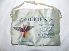 Vtg Hankies Handkerchief Fabric Holder Jefferson Barracks, MO Sweetheart Poem