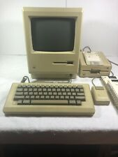 Macintosh Plus 1Mb computer With Accessories Used