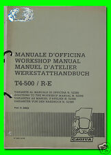 CAGIVA manuale d'officina T4-500/R-E