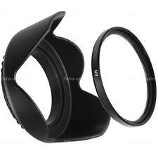 67mm UV Filter & Sonnenblende lens hood Green.L für 67 mm Einschraubanschluss
