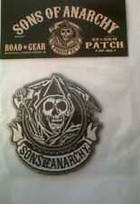 "SONS OF ANARCHY ""CIRCLE"" REAPER EMBROIDERED PATCH 2012"