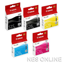 Canon Genuine PGI-525/CLI-526 5x INK SET for IP4950 MG5350 MG6250 MG6150 Printer