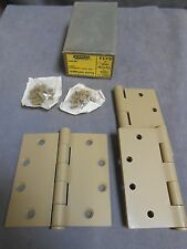 """3"" Unused 4 1/2 x 4 1/2 Stanley Template Butts Door Hinge F179"