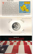 $5 Heroes Of Pearl Harbor Commemorative Coin Issue Date January 1, 1991