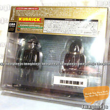 RaRe~ Japan Medicom X DAFT PUNK Kubrick Human After All 2pcs figure with CD
