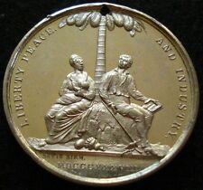 1838 Abolition Anti-Slavery Medal RARE UNLISTED & GEM