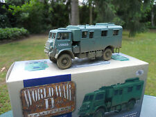 "Corgi 1/50 militaire Camion Bedford Qlr 4x4 ""headquarters"" Royal Army 1944 60302"