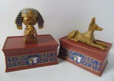 Playmobil Museo egipcio/ciudad extras: estatuas de oro plintos y NUEVO