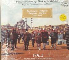 BULGARIA AND TURKEY 30/45 MUSIC OF THE BALKANS VOL2 *CD NEW SEALED SIGILLATO