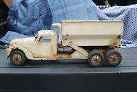 Buddy L Hydraulic Dumper Dump Truck - Pressed Steel - USA painted
