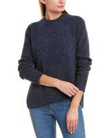 Vince Asymmetrical Wool-Blend Sweater Women's
