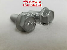 2x GENUINE Disc Brake Caliper Bolt 1994-2010 Toyota Tacoma Land Cruiser 4Runner