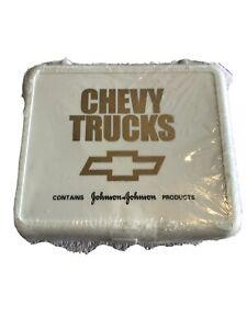 Chevy Trucks Vintage First Aid Kit Johnson & Johnson 1990's Chevrolet